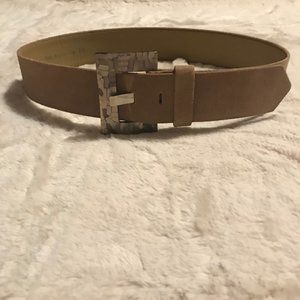 🔥 Simon Chang 5755 Belt With Marbled Buckle